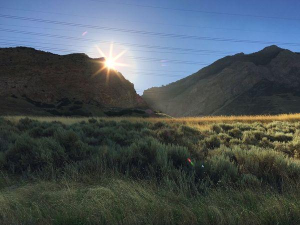 Landscape Mountains Hiking Morning Morning Sky Morning Light Morning Sun Sunrise Sunburst Outdoors Nature Iphoneonly