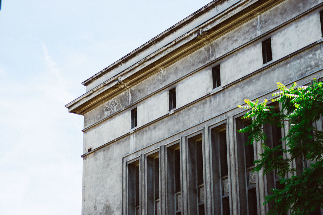 Berghain Architecture Berghain Berlin Building Exterior Built Structure Dancing Day Electronic Music Low Angle View No People Outdoors Sky Techno Weekend Window
