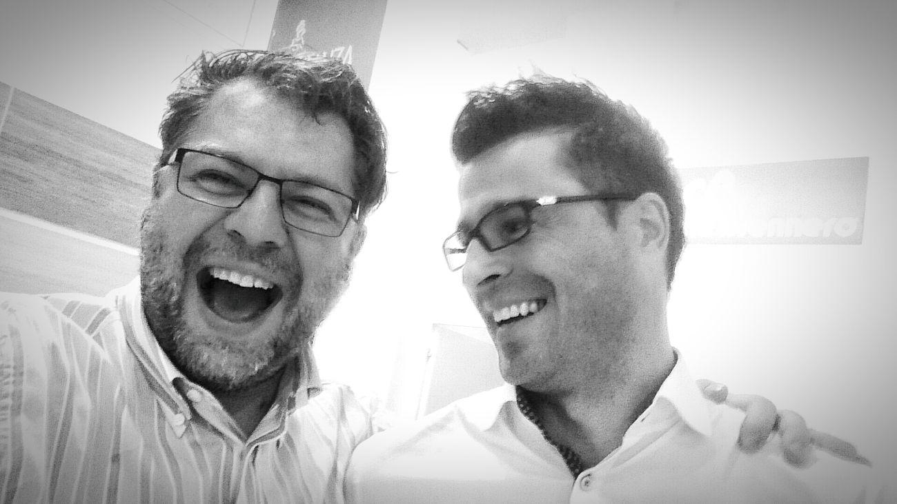 Oski & Andrea @ Cersaie 2015 Bologna Selfie ✌ Cersaie2015 Working Hard Hi Taking Photos Enjoying Life