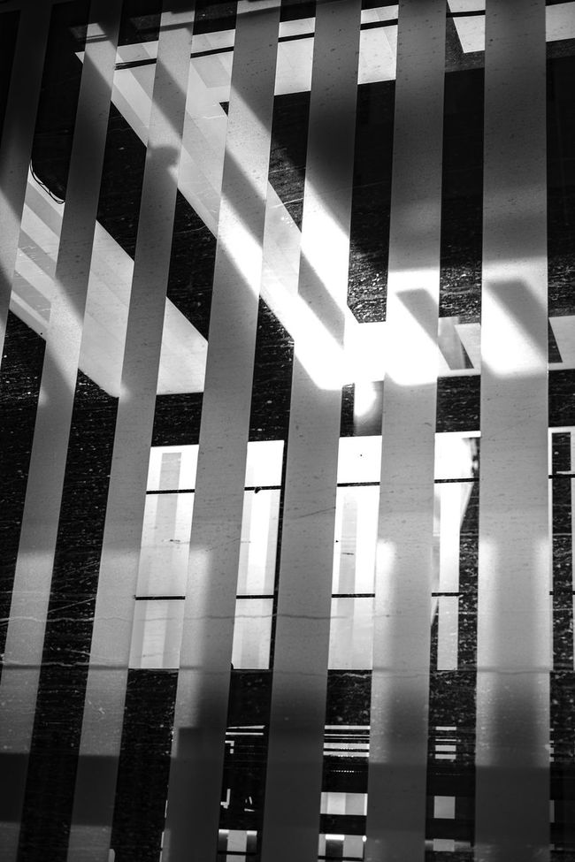Light stripes. [4/364] 2016.10.13 365 365 Day Challenge 365project Abstract Abstract Photography Architectural Feature Architecture Built Structure Full Frame Geometric Shape No People Pattern Repetition