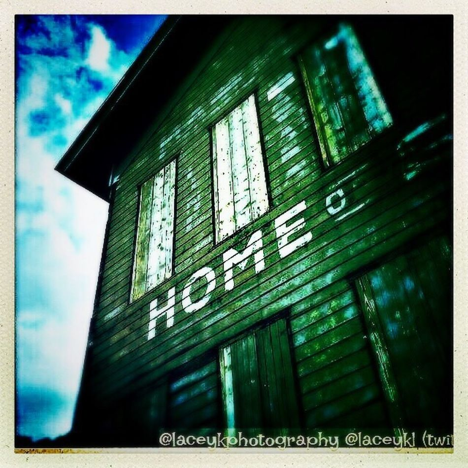 """""""Home is a feeling not a place"""" Ybor City Historic Historical Building Discover Your City Exploring Ghosts Green Color Tampa Fl Ybor History Yborcity Cigarbuilding home Home Instagramer Laceykphotography First Eyeem Photo"""