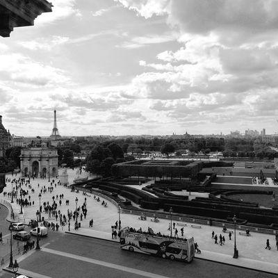 The view View Louvre Paris Trip Printemps Wonderful Magic