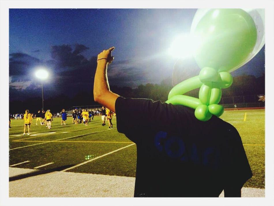 Coached my freshman girls powder puff 2014 ! 2-0 Girl Football First Eyeem Photo