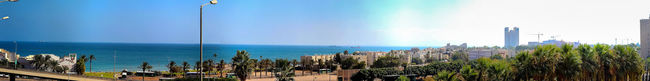 Beach Blue Clear Sky Day Outdoors Panorama Panoramic Panoramic Photography Port Sea Sea And Sky Ship Sky Street Streetphotography View Water