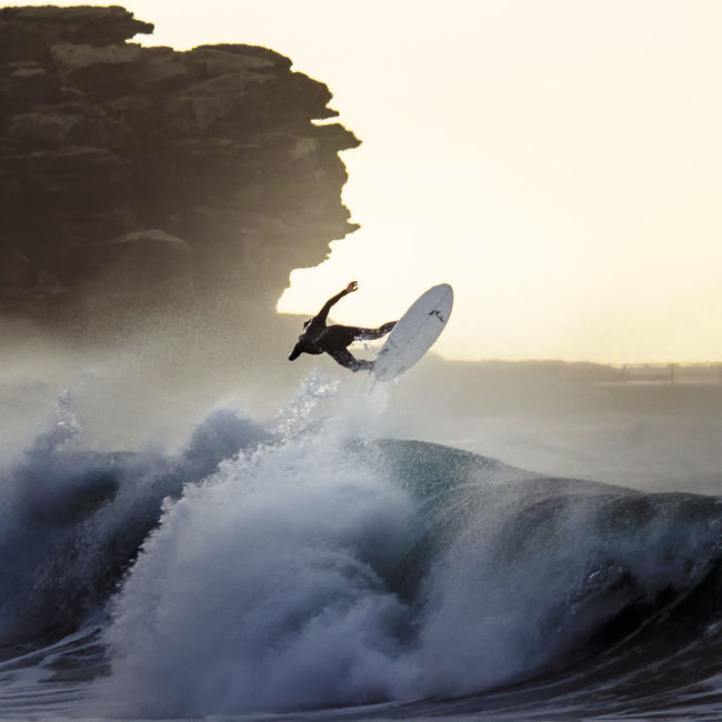 Twister Motion Nature Outdoors Power In Nature Rock Formation Sky Surfing Water