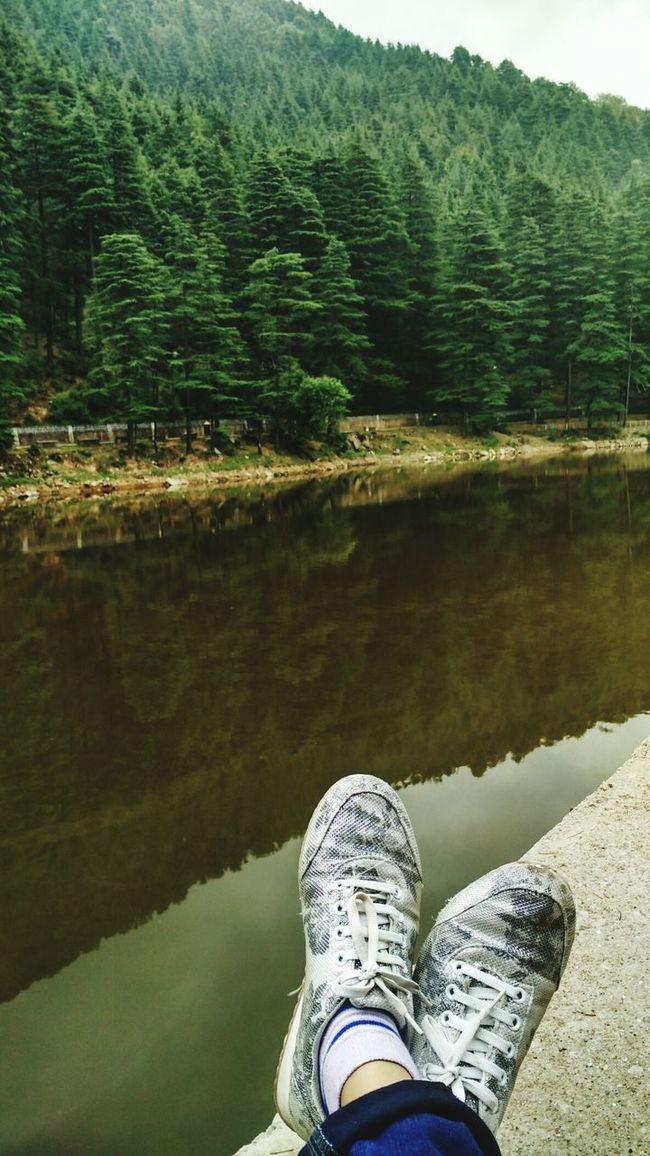 Chilling. Thegreatoutdoors-2016eyeemawards Dallake Mcleodganj Shoes ♥ Lake View Morning That's Me Photooftheday EyeEm Gallery Relaxing TheWeekOnEyeEM
