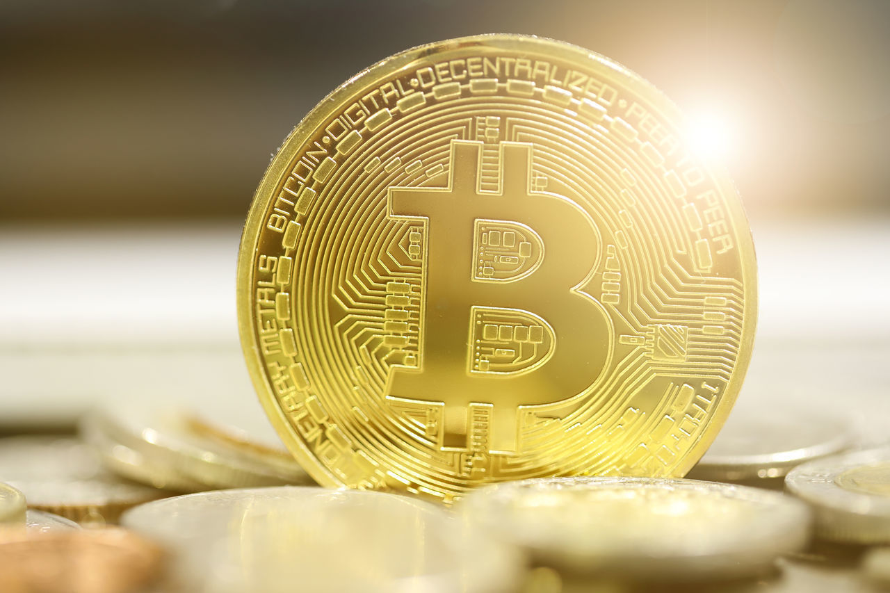 golden bitcoins on coins background Currency Economics Electronic Music Shots Gold Market Virtual Bank Banking Bitcoin Bitcoins Bite Cash E Commerce Exchance Finance Golden Hour Money Net Web