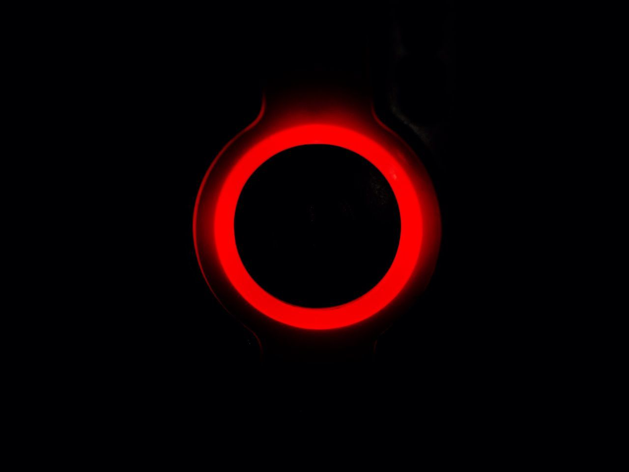 Push the Button Red Black Background Heat - Temperature Illuminated No People Burning Red Light Close Up Technology