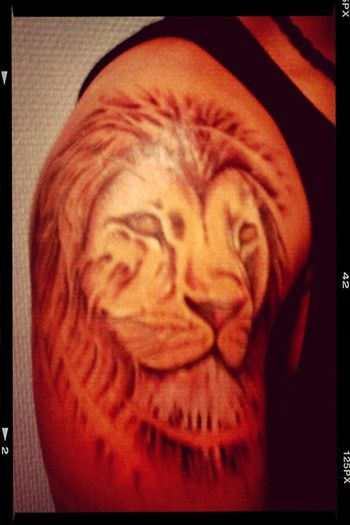 My Tattoo mufasa!