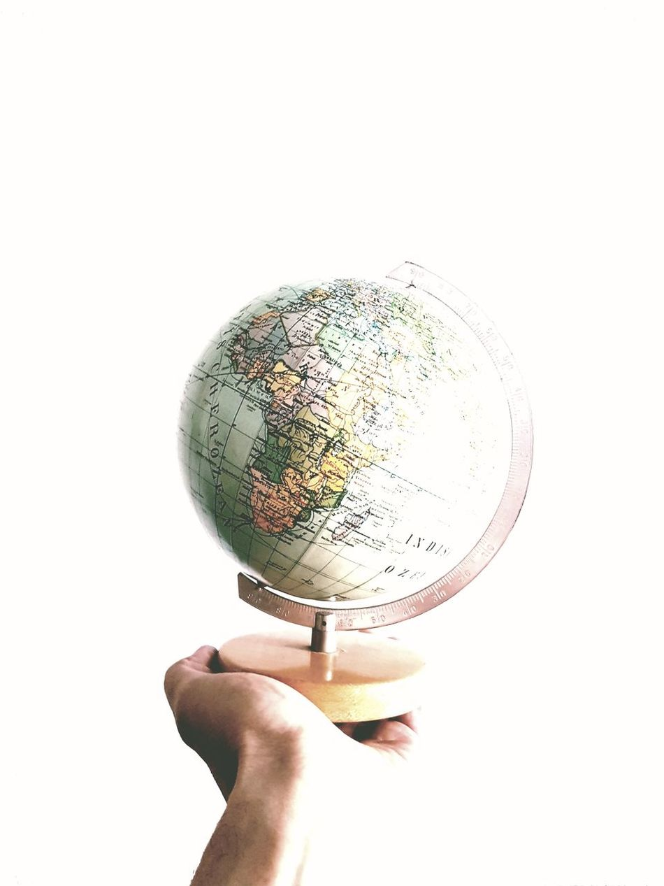Human Hand Human Body Part White Background Good Bye Good Bye World On Tour Travel Preparation Wherever Globetrotter Globes The World Tourism Travel Tourist Travel Time!!! Travel Photography Holiday Season Holiday Holiday Trip Together Globe Where Preparation  By  Cover Photo Traveling
