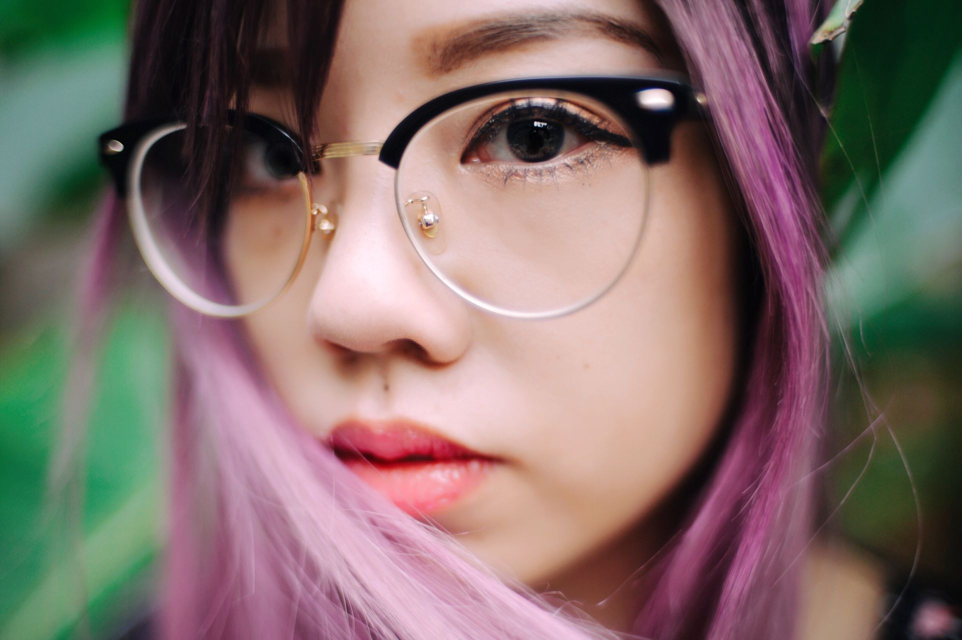 Youth young adult close-up young women human face real people eyeglasses beautiful woman human eye portrait outdoors one person day