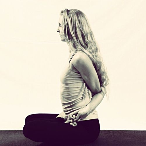 EyeEmNewHere One Person Yogini Freespirit Power Love Sitting Balance Silince Gratitude ThePowerOfNow