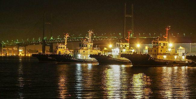 横浜周辺は夜景が綺麗なとこが多くて好き♪深夜なのでベイブリッジはライトアップしてないのが残念。こそこそと夜景撮りw Nightphotography Night Lights Night View Landscape Landscape_photography Baybridge