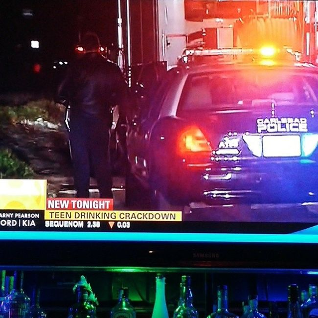 Everyone watch out!!! Police Sandiego Dui Crackdown drinking
