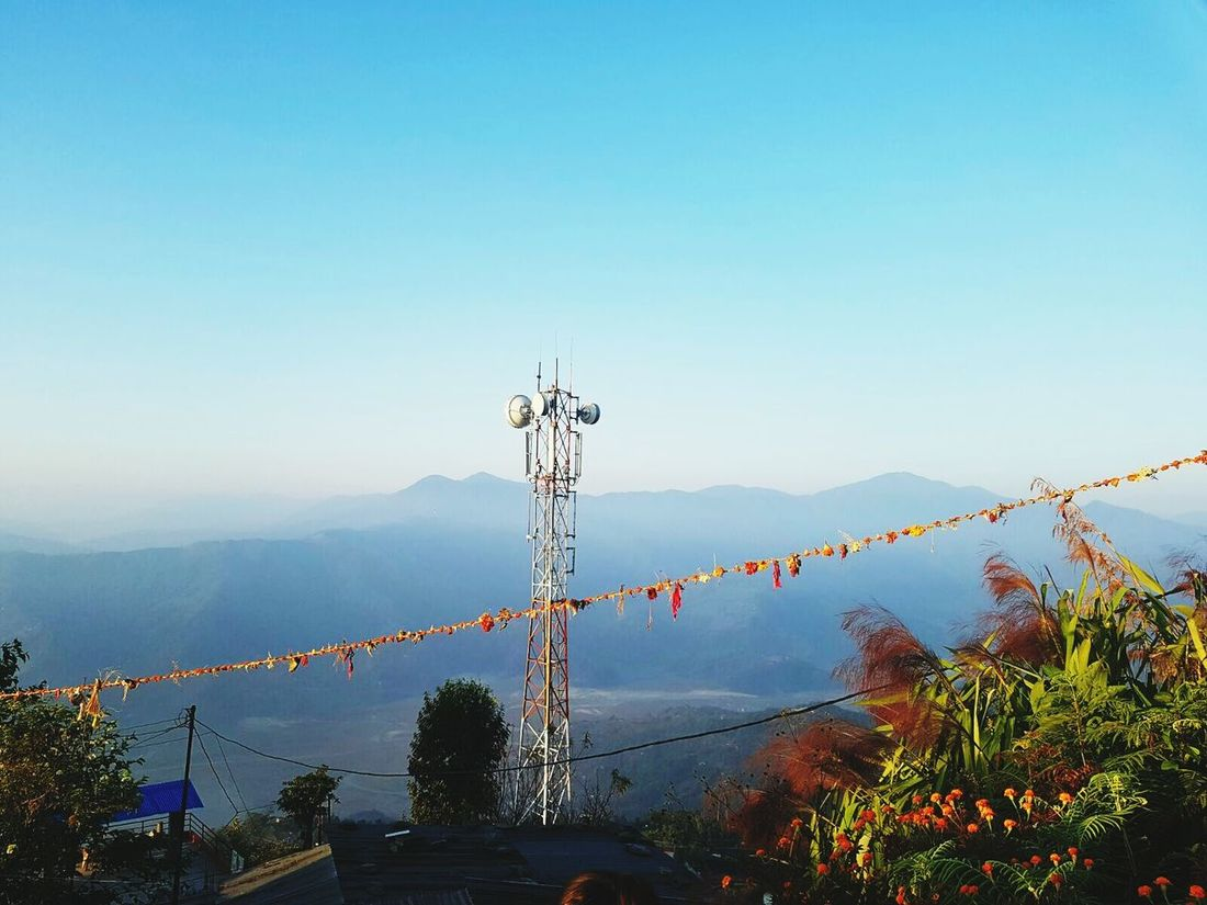 Tree Nature Tranquility Sky Mountain Outdoors Landscape Forest Sunset No People Fog Natural Parkland Milky Way Day Drone  Travel Destinations Beautiful View Himalayanwonders Nepal Mountains Himalaya Range Mountain Range Clouds And Sky Cloud - Sky Scenics