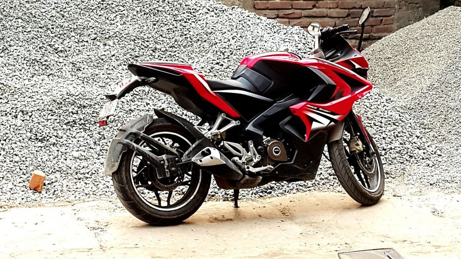 Pulsar RS 200 Standing Look Looks Like A Beast