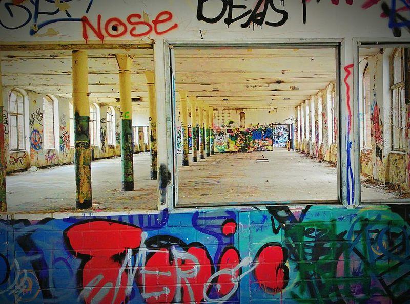 Altes Conti Hannover :) Graffiti Grafitti Art. Conti Hannover Hannover Verlasseneorte