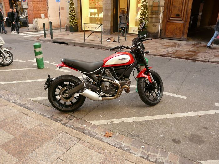 Fashion France Motorbike Caferacer 2015  Moto Francia Passion Color Street My Photo