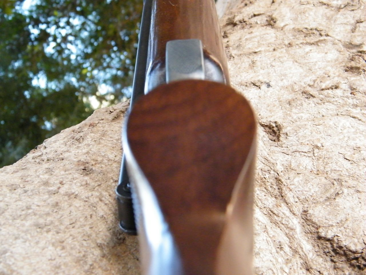 Wood - Material Rifle Back To Nature Hunter