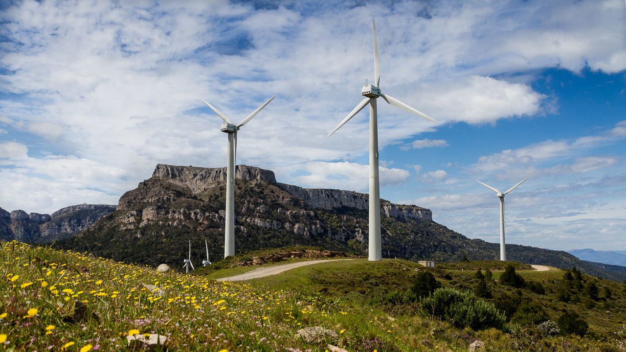Molinos de la Mola Urbanas Nature Photography, landescape, mountain, energia, Energia Eolica Landscape Outdoors Renewable Energy Industry Nature Alternative Energy