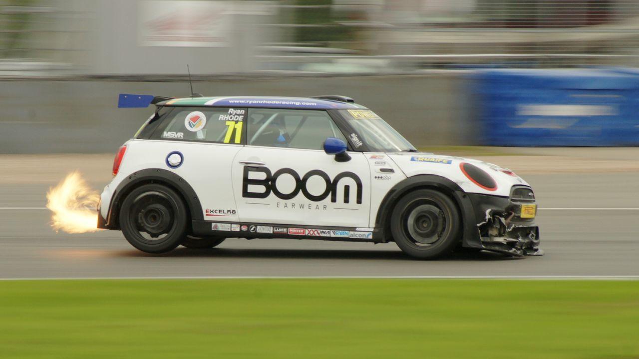 GT Race day at Donington. Cars Racing Race Tracks Mini's
