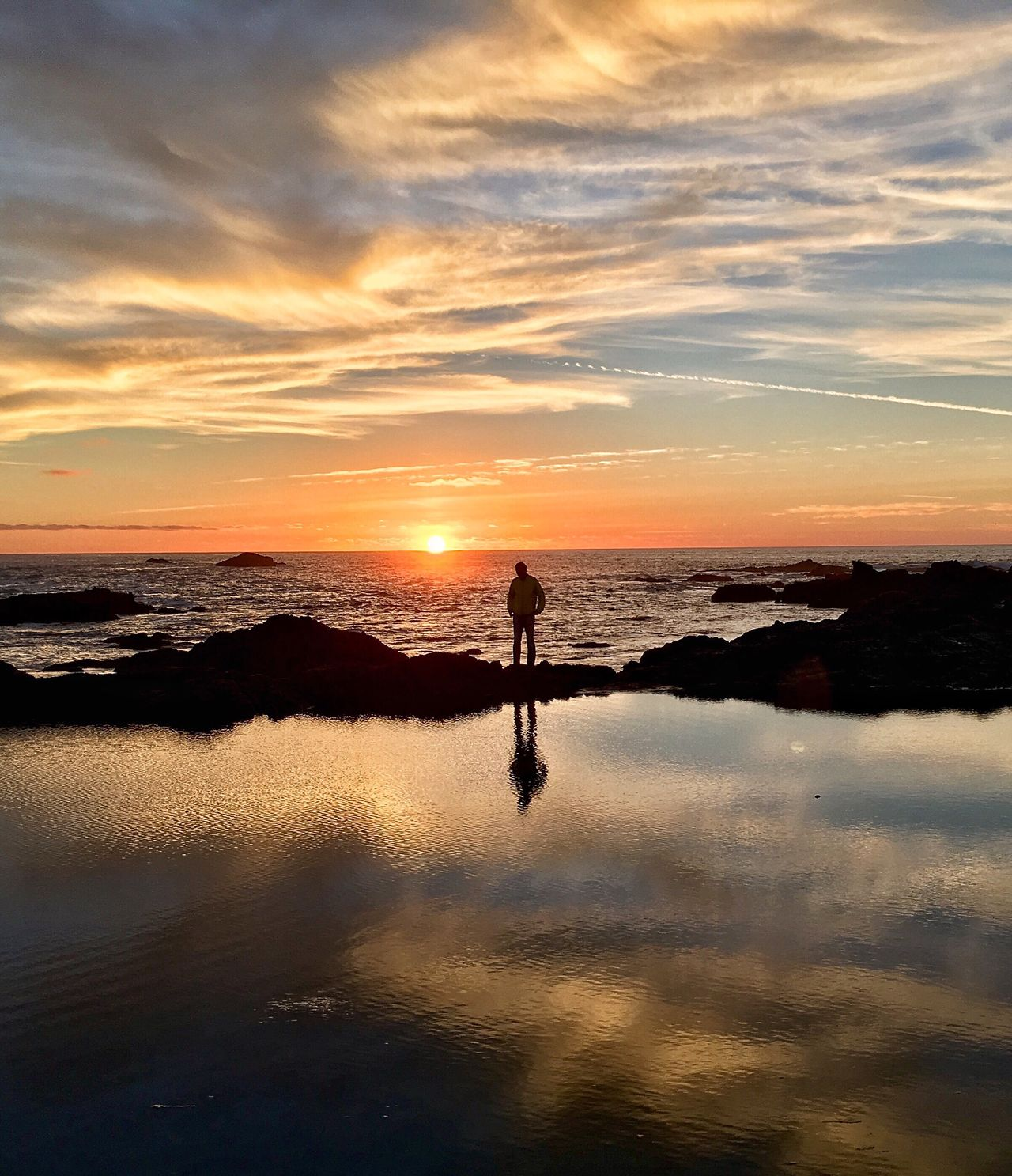 TCPM EyeEmBestPics Check This Out EyeEm Diversity EyeEm Gallery Outdoors Sunset_collection Man's Reflection Silhouette Fort Bragg EyeEm Best Shots Beach Sillouette Reflection EyeEm Nature Lover IPhoneography Sunset Silhouettes Sunset And Clouds  The Great Outdoors - 2017 EyeEm Awards See The Light