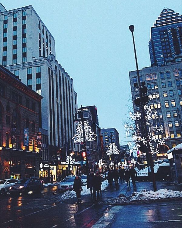 My othee city Montréal Canada Quebec Downtown Downtownmontreal Exchange Student Cold Winter Winter Wonderland Wintertime Beautiful Throwback