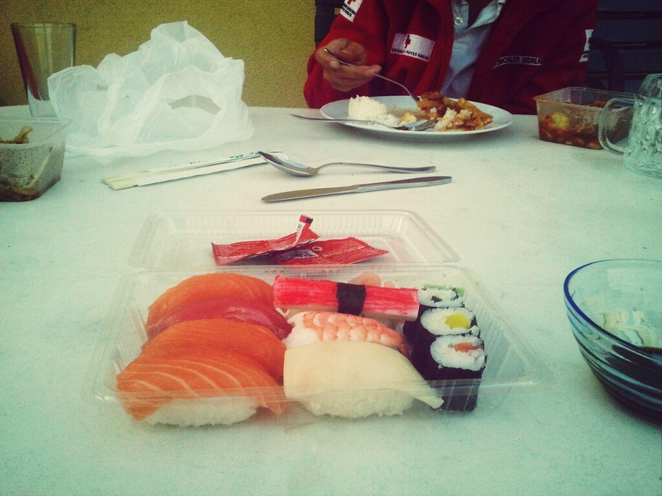 Abendessen mit den Kollegen :-)