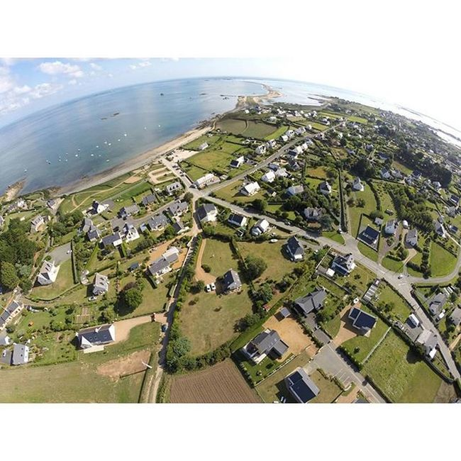 L'amor Pleubian aerial Pleubian Dji Djiphantom Bretagne Brittany Aerialphotography Atlantic Atlantik Gopro Coast Küste Strand Beach Sillondetalbert Sillon