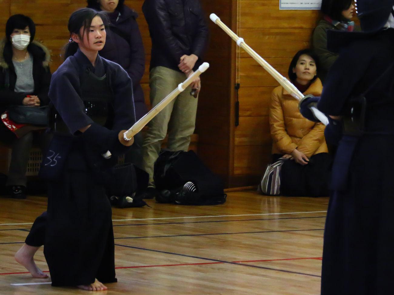 My Daughter Kendo Senior Examination Tokyo Japan EyeEm EyeEm Best Shots Asian Culture Japanese Culture Budo Start !!