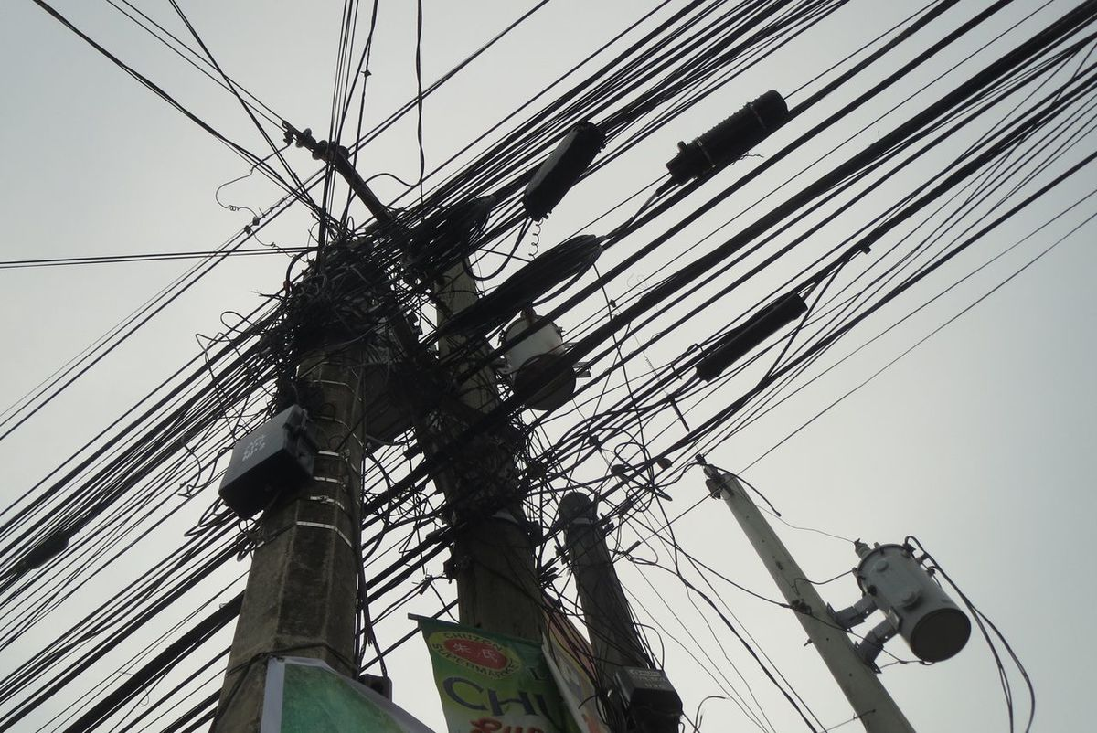 Lines Cable Complexity Connection Day Electric Pole Electricity  Electricity Pylon Fuel And Power Generation Low Angle View No People Outdoors Power Line  Power Supply Sky Technology Telephone Line Telephone Pole