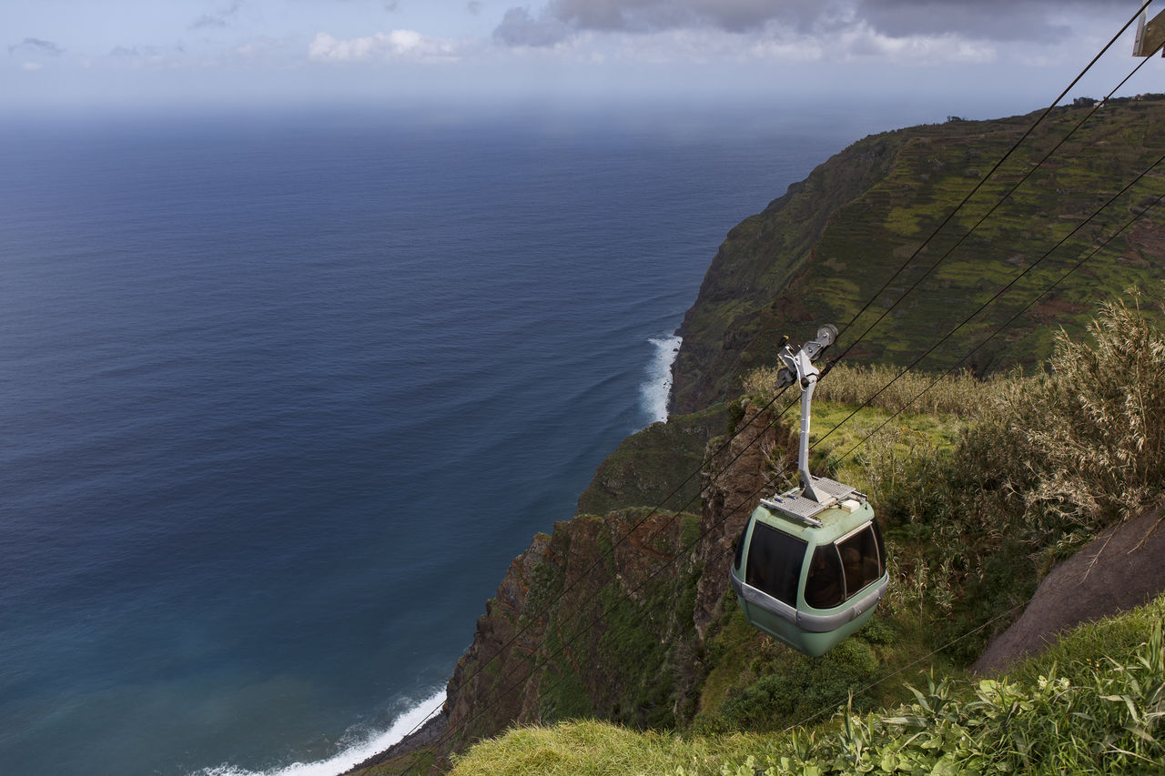 Arduous Beauty In Nature Bold Cable Car Cable Car View Cable Cars Cliff Cliffy Cliffycliff Funicular Holyday Madeira Madeira Island Mountain Nature Rock - Object Ropeway Ropeways Ropeway🚠 Sea Steep Steep Hill Telefèric Vacation Vacations