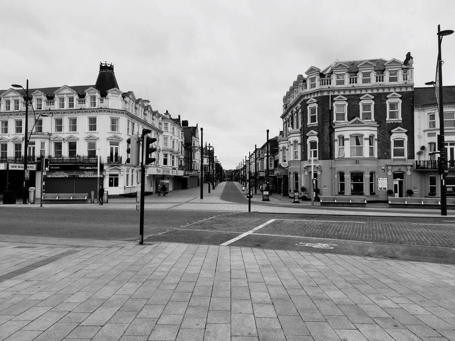Old-fashioned Black And White Blackandwhite Great Yarmouth Uk Norfolk