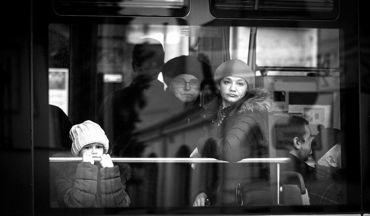 Adult Adults Only EyeEm Gallery Eyeemstreetphotography In Riga Latvia Lifestyles People Portrait Real People Reflection Sadness And Sorrow Street Streetcar Streetphotography Tram Women Young Adult Young Women EyeEmNewHere The City Light Women Around The World Candid Candid Photography Real People, Real Lives