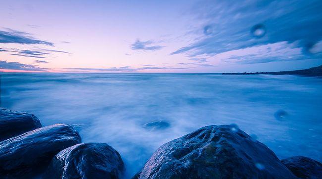 Blue hour @ Skagen, Denmark. Longexposure Sunset Sea Westcoast Of Denmark