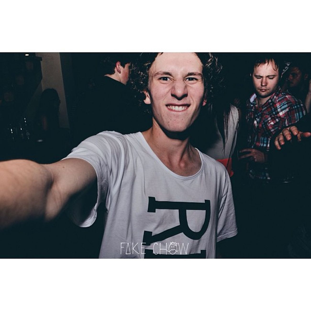 Selfie at chow ??? Fakechow Claptone Ohgod Killingit dprox