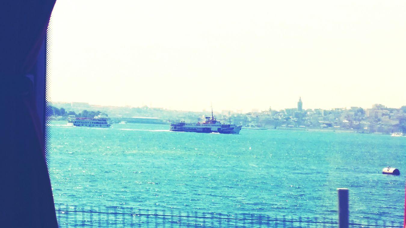 Istanbul, Turkey ?? Istanbul - Bosphorus Soleil Sun ☀ été2014 Vacances✌👌💘