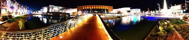 Christmas Shopping Mall Christmas Lights Zaragoza Puerto Venecia