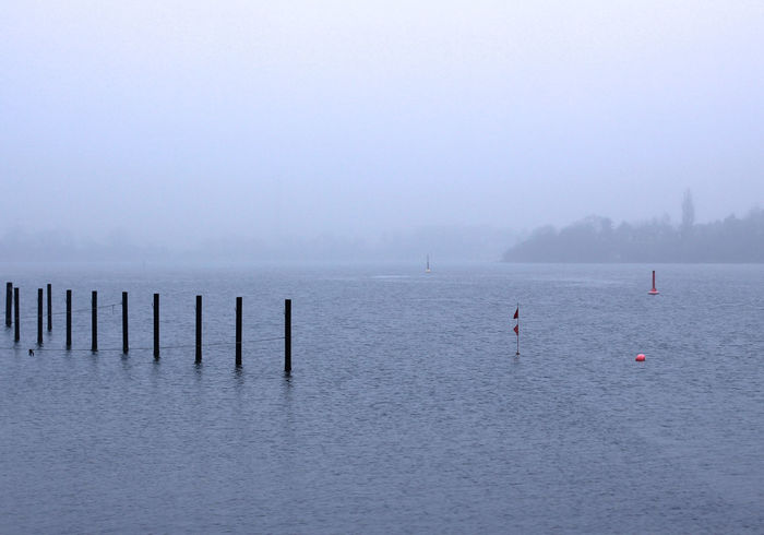 Cold Temperature Fog Nature No People Outdoors River Tranquility Water