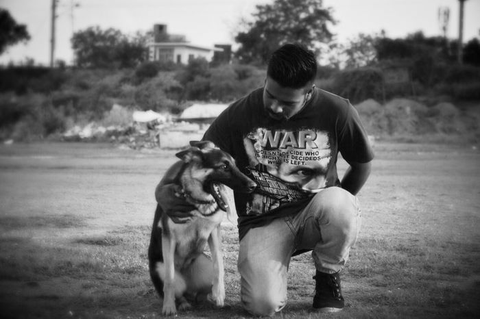In random found this kid training his dog Dogs Alsatian Dogs Of EyeEm Pets Animal Themes Animals Mansbestfriend Check This Out Hanging Out Enjoying Life Faces Of EyeEm