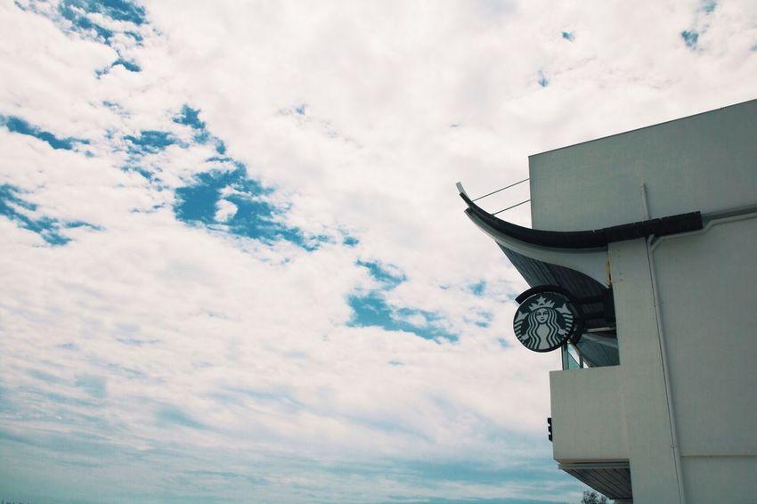 Canon Test VSCO Vscocam Cloud Sky Blue Starbucks