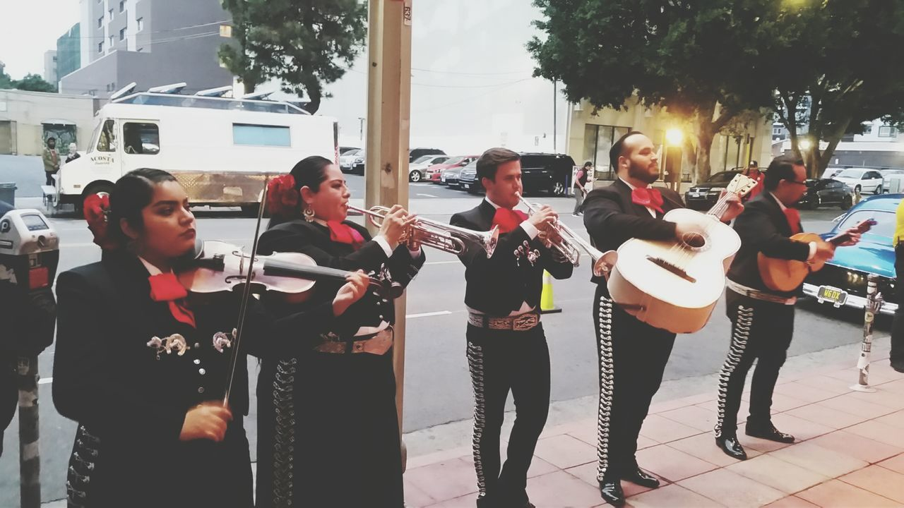 Cinco de Drinko in Downtown Los Angeles. Cinco De Mayo Mariachi Mexican Live Music Street Photography