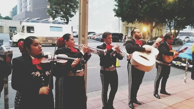Cinco de Drinko in Downtown Los Angeles. Cinco De Mayo Mariachi Mexican Live Music Street Photography