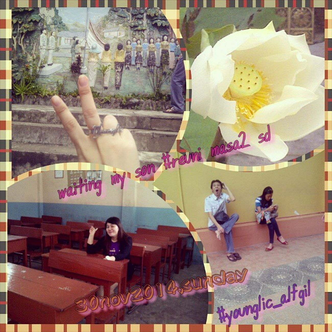 Latepost Younglic_alfgil Sundaymorning Sundaylol weekendmorning weekend weekendday vihara sakyakirti sdsariputra reunionmoment withourfamz withmyhoney