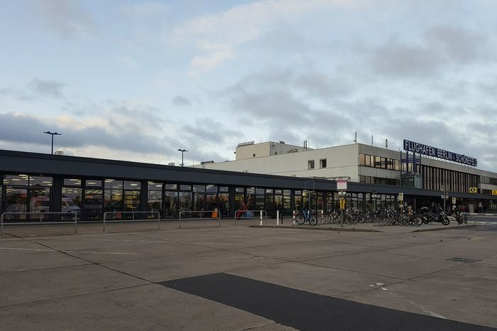 Schönefeld Airport Architecture Building Exterior Built Structure City Cloud - Sky Day Modern No People Outdoors Schonefeld Sky