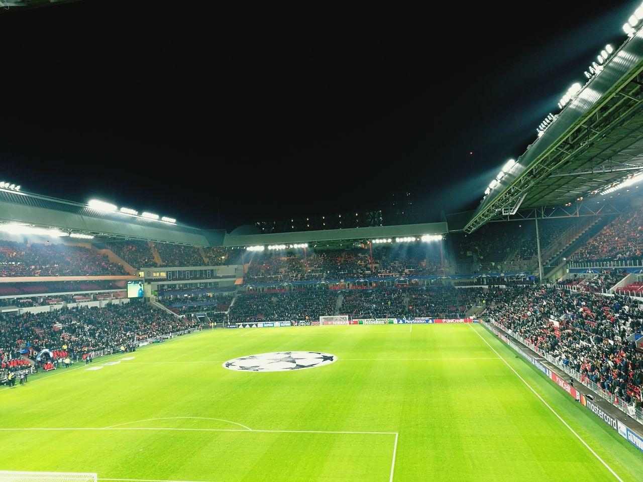 CL Stadium Lighting Equipment Grass Soccer Sport Sports Team First Eyeem Photo