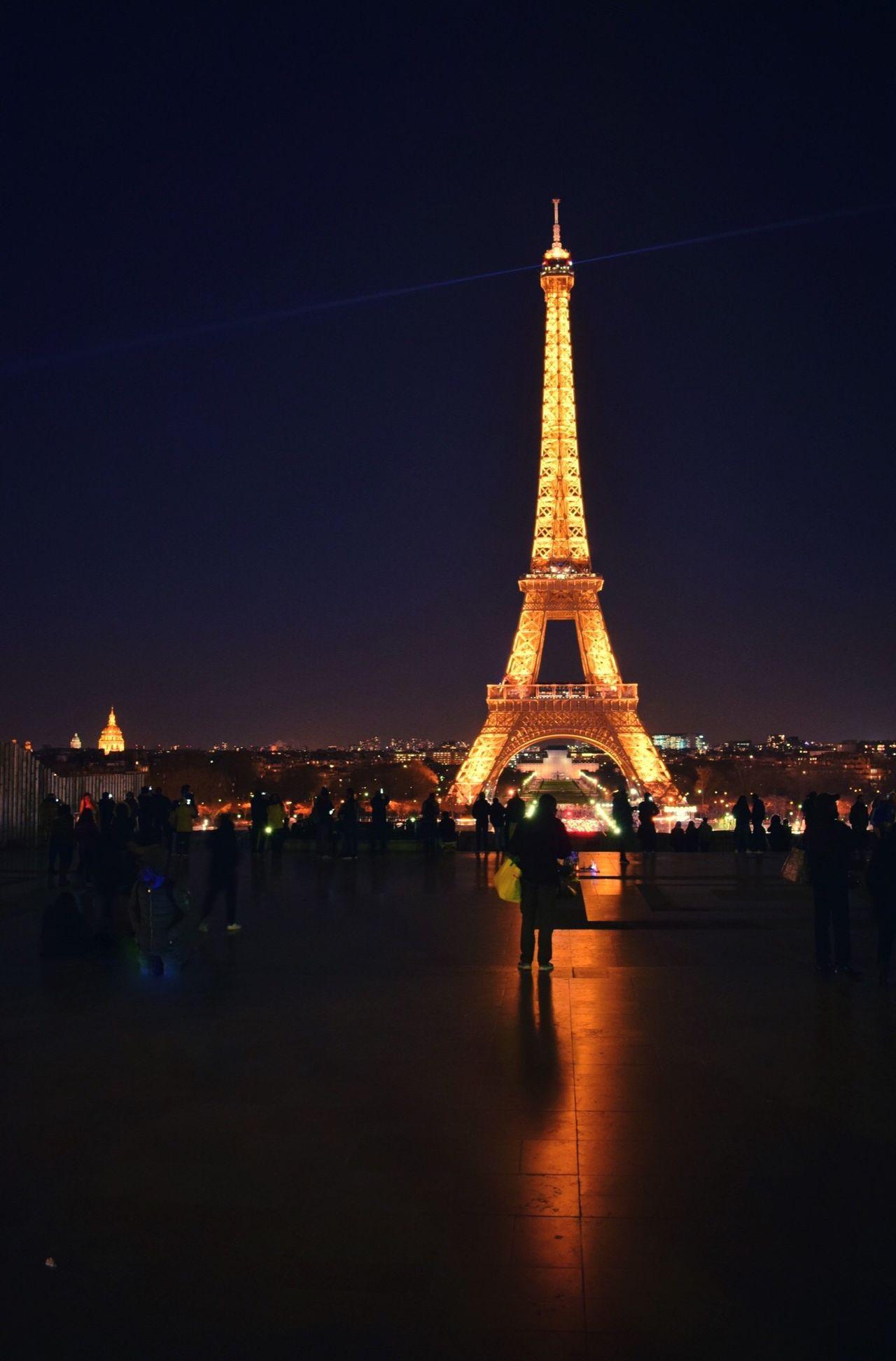 Eiffel Tower Eiffel Tower Tower Paris Torre Eiffel Noche Nocturna First Eyeem Photo