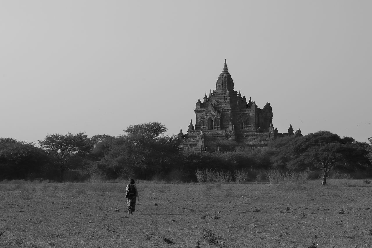 Alone Ancient Ancient Architecture Ancient Civilization Architecture Blackandwhite Blackandwhite Photography Buddhist Temple Built Structure Historical Historical Building History Landscape Landscape_Collection Landscape_photography Monochorme Nature One Man Only One Person Outdoors Pagoda Religion Travel Destinations Tree Walk
