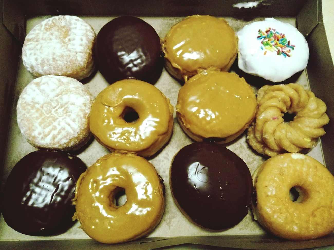 Food And Drink Dessert Close-up Arrangement Donuts🍩 Food Timhortons Food And Drink Multi Colored Sweet Food Donut