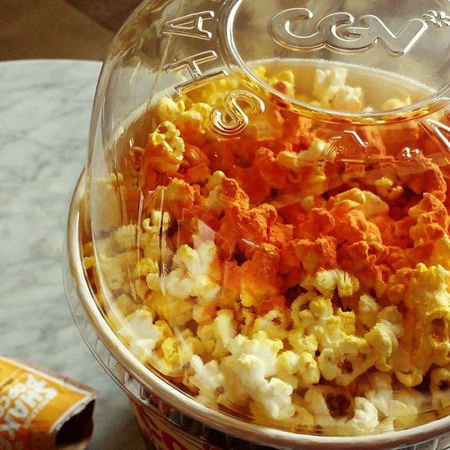 Shakepopcorn 치즈팝콘 Cgv 영화관팝콘